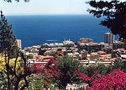 Around the Principality of Monaco, Monte-Carlo : Beausoleil