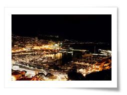 Monaco - Monte Carlo : vue aérienne