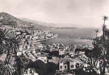 Le port de Monaco - Monte Carlo  au début du siècle