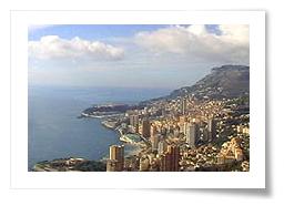 General view of Monaco - Monte Carlo