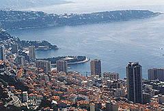 Vue de Monaco et du Cap Martin