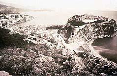Le Rocher de Monaco au début du siècle